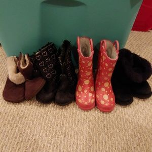 Other - Toddler size 6 & 7 boots